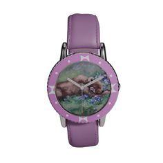 Sleeping Buddies II Wrist Watches http://www.zazzle.com/sleeping_buddies_ii_wrist_watches-256109768446868064