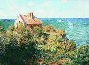 "New artwork for sale! - "" Claude Monet - Fisherman S Cottage At Varengeville by Claude Monet "" - http://ift.tt/2ldd0UL"