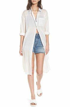 a7b7a2966d9 Main Image - Love Like Summer x Billabong Drift Away Shirtdress Spirit Of  Summer