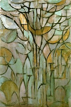 Tree, 1912 by Piet Mondrian is printed with premium inks for brilliant color and then hand-stretched over museum quality stretcher bars. 60-Day Money Back Guarantee AND Free Return Shipping.