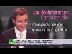 Turkey's Pres. Erdogan demands Germany prosecute comedian over satirical poem - http://www.juancole.com/2016/04/turkeys-pres-erdogan-demands-germany-prosecute-comedian-over-satirical-poem.html