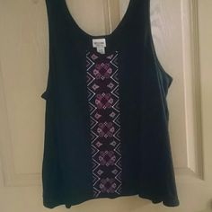 REDUCED. Missimo supply co tank Indian design on front Mossimo Supply Co Tops Tank Tops