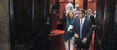 La UDEF conecta las facturas falsas de Jordi Pujol Jr. con la trama de CDC en el Palau  .... Comisaría General de Policía Judicial Mas, tras su comparecencia en 2013 sobre el caso Palau.