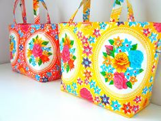 elisanna: happy 2012 * geel en oranje * give away Small Sewing Projects, Sewing Hacks, Sewing Tutorials, Sewing Ideas, Craft Patterns, Sewing Patterns Free, Crochet Hook Set, Handmade Bags, Purses And Bags