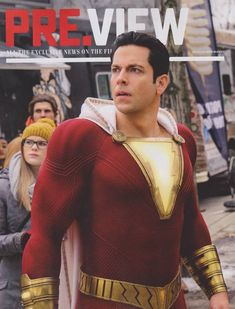 Some awesome new stills from Aquaman and Shazam! have been released today putting the spotlight on the titular heroes and characters like Doctor Sivana and King Atlan. Hit the jump to take a look. Captain Marvel Shazam, Marvel Vs, Marvel Dc Comics, Zachary Levi, Movies And Series, Dc Movies, Movies Online, Shazam Movie, Halloween Stuff