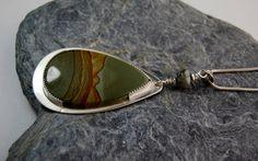 scenic+jasper+stone+necklace++oregon+scenic+jasper+by+DesignsbyCaz,+£50.00