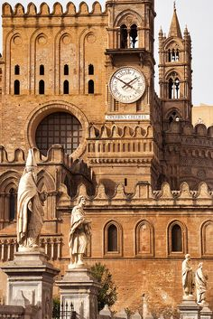 palermo cathedral, palermo, sicily, italy
