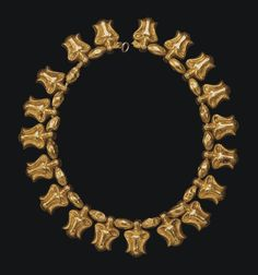 A MEROITIC GOLD BEAD NECKLACE CIRCA 1ST CENTURY A.D. by chrystal | via : christies.com