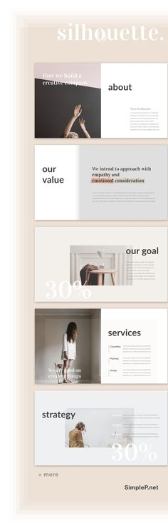 Awesome Keynote Presentation Template #ppt #portfolio #proposal #minimal #silhouette #simple #layout #strategy #goal #keynote #about #pitch