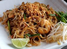 Pad Thai is the best-known Thai noodle dish of all, and uses all of the typical condiments of Thai cooking. Proper Pad Thai must be sweet, acidic, slightly spicy, and a little savoury all at once.