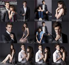 Fifty Shades of Grey #jamiedornan #DakotaJohnson #FiftyShadesofGrey #christiangrey and #anasteele