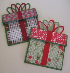 Great Minds Ink Alike: Christmas Gift Card Holders