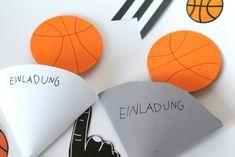 Basketball Einladung Mottoparty Kindergeburtstag Basketball Party, Basketball Birthday, Glee