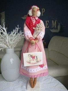 Новогодние Тильды часть 2 - 5 Декабря 2013 - Кукла Тильда. Всё о Тильде, выкройки, мастер-классы.