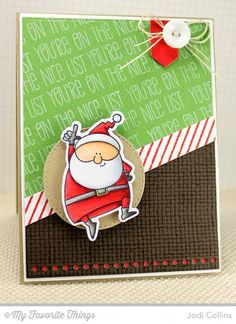 You're On The Nice List! by Kharmagirl - Cards and Paper Crafts at Splitcoaststampers