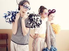 candy-stripes // photo: Delphine Chanet, stylisme Hélène Lahalle // MilK 39