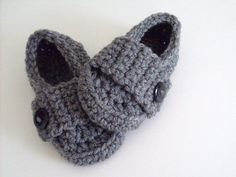 Little Button Loafers, Baby Boy Shoes, 5 Sizes & Many Colors Available on Etsy, $12.00