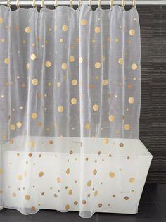moondance shower curtain - by kontextur