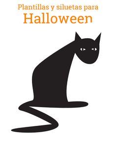 FREE printable halloween window decoration silhouettes