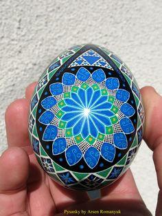 Pysanka. Ukrainian Art Form. Pysanky Eggs.