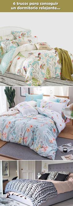 Trucos para decorar dormitorios. Dormitorios relajantes. Habitaciones relajantes. #decoraciondormitorios #decoracioninterior #dormitorios