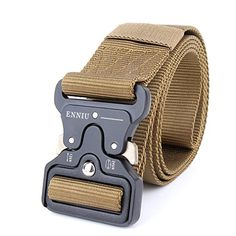 """XRaider Tactical Belt, 1.7"""" Tactical Heavy Duty Waist Belt, Quick-Release Military Style Shooters Nylon Belts with Metal Buckle   http://huntinggearsuperstore.com/product/xraider-tactical-belt-1-7-tactical-heavy-duty-waist-belt-quick-release-military-style-shooters-nylon-belts-with-metal-buckle/"""