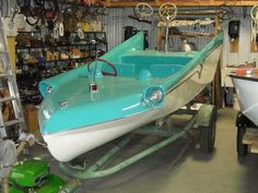 1950S Boats With Fins   1966 Batman Batboat =: Cool Picture Of The Week - Restored Vali IV