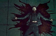 "Love crime: Hannibal, ""The Wrath of the Lamb"" Nbc Hannibal, Hannibal Lecter, Hannibal Red Dragon, Dragon Fight, Thomas Harris, Francis Dolarhyde, Big Bad Wolf, Hugh Dancy, Mads Mikkelsen"
