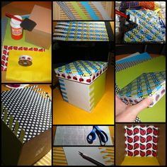 Mod Podge Boxes | Pin-spired! Mod Podge Boxes