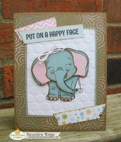 Happy Face ~ Peachy Keen Stamps June Sneak Peek ~ Day 2