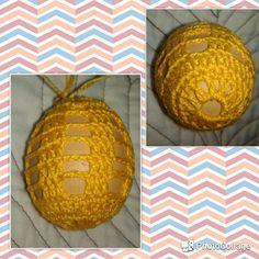 Crochet eastern egg