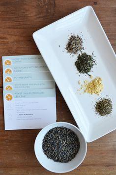 DIY French Cooking Kit - Vegetarian