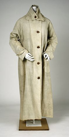Duster 1905, cotton. Abercrombie & Fitch.