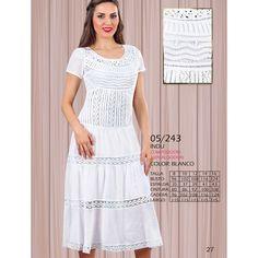05/243 - VESTIDO PLAYERO CON BOLILLO,BORDADO EN PATECABRA Short Sleeve Dresses, Dresses With Sleeves, Summer Dresses, Fashion, Pink, Embroidered Dresses, Dama Dresses, Blouses, Embroidery Ideas