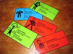 Papa's visitekaartjes...