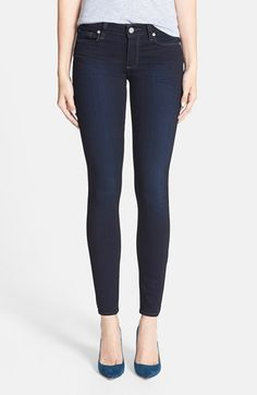 Paige Denim 'Verdugo' Ultra Skinny Jeans (Mona) available at #Nordstrom--i need a pair of skinny jeans to go inside my booties