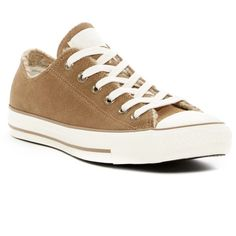 Converse Chuck Taylor All Star Faux Shearling Sneaker (Women) ($50) ❤ liked on Polyvore featuring shoes, sneakers, lacing sneakers, lace up sneakers, converse shoes, converse trainers and laced shoes