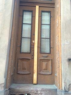 Door with Wood