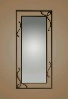 Contra marco de espejo
