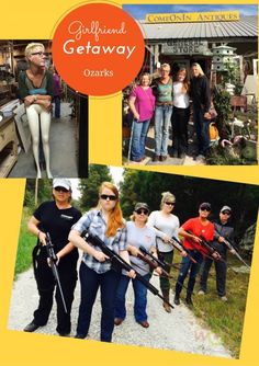 Find out what happened on this girlfriend getaway, when women from Ruger met in the Ozarks to shoot, visit Bass Pro Shops and go antiquing. Girlfriends Getaway, Other Woman, Bass, Gun, Shops, Shit Happens, Baseball Cards, Women, Tents
