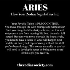 I didn't know it was Precognition.   I am Psychic on levels..