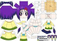 Haruna Sairenji (Joey's Chibi Girls 038) by ELJOEYDESIGNS.deviantart.com on @DeviantArt