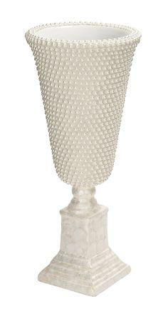 Unique and Royal Fiber Glass Floor Vase