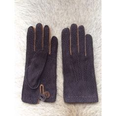 Top men's Carpincho Leather Gloves