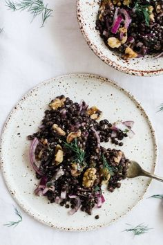 Simple French Inspired Lentil Salad | Nutrition Stripped | Bloglovin'