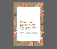 Student Art Competition Poster