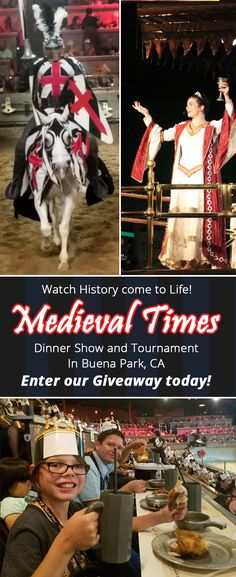 Medieval Times Dinner Show and Tournament! Visit in Buena Park California and enter our giveaway on our blog! Highlights Along The Way  ( ad )