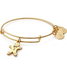 Gingerbread Man Charm Bangle   Blessings in a Backpack
