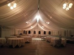 Love this tent draping