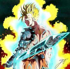 Gohan do futuro - Dragon Ball Dragon Ball Gt, Manga Anime, Art Anime, Akira, Dbz Characters, Fictional Characters, Animes Wallpapers, Fan Art, Anime Comics